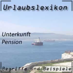 Pension für Urlaubsgäste