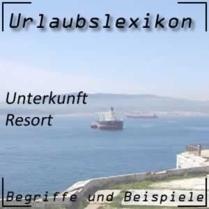 Resort oder Hotel-Resort