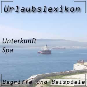 Spa oder Hotel mit Bad
