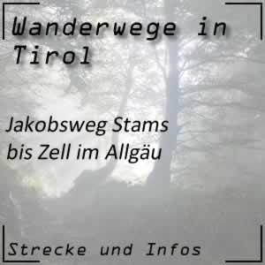Jakobsweg Stams