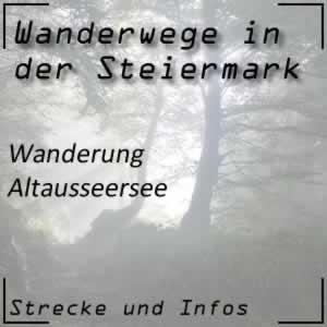 Wanderweg Altausseersee
