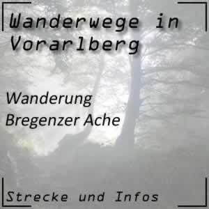 Bregenzer Ache und Bodensee Wanderweg