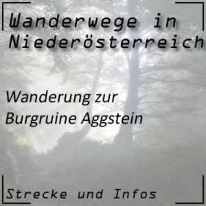 Wanderung auf die Burgruine Aggstein