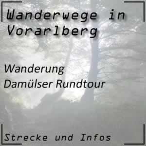 Wanderung Damülser Rundtour Bregenzerwald