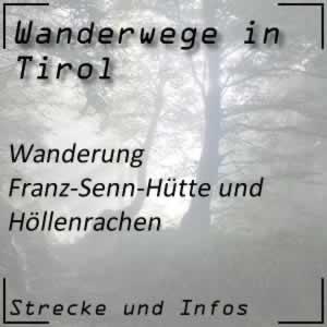 Wanderung zur Franz-Senn-Hütte und dem Höllenrachen