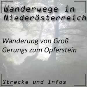 Groß Gerungs / Opferstein Wanderung