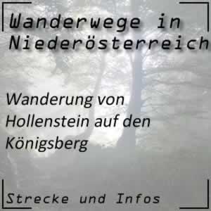 Hollenstein - Königsberg Wanderung
