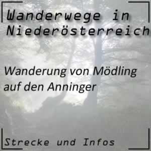 Mödling -> Anninger Wanderung