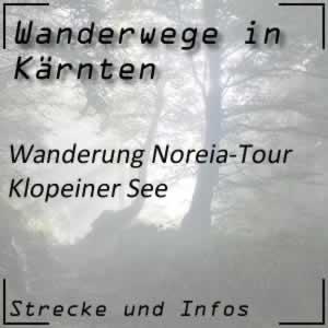 Wanderung Noreia-Tour beim Klopeiner See