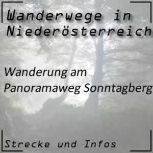 Wanderung Panoramaweg Sonntagberg Mostviertel