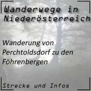 Wanderung von Perchtoldsdorf zu den Föhrenbergen