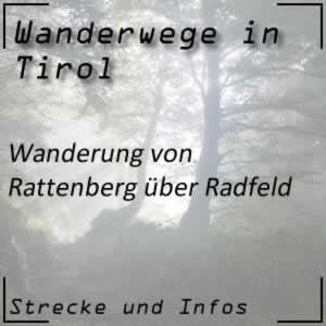 Rattenberg / Radfeld Wanderung