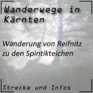 Reifnitz / Spintikteiche Wanderung