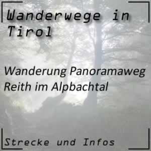 Wanderung Panoramaweg Reith im Alpbachtal