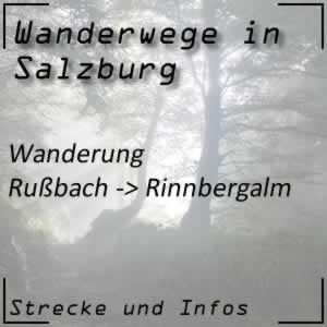 Wanderung von Rußbach zur Rinnbergalm