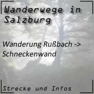Russbach / Schneckenwand Wanderung