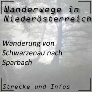 Wanderung von Schwarzenau nach Sparbach
