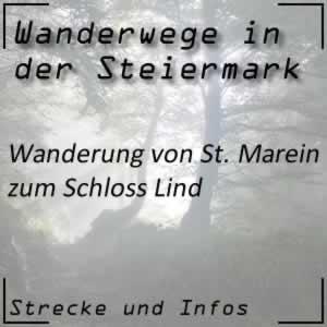 Wanderung von St. Marein zum Schloss Lind