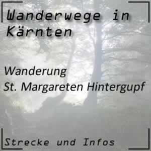 Rundwanderung Hintergupf bei St. Margareten im Rosental