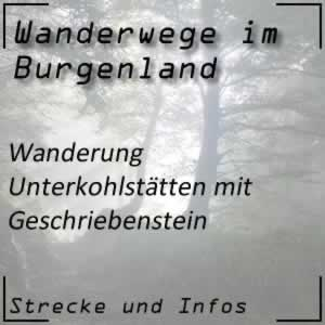 Wanderung Unterkohlstätten mit Naturpark