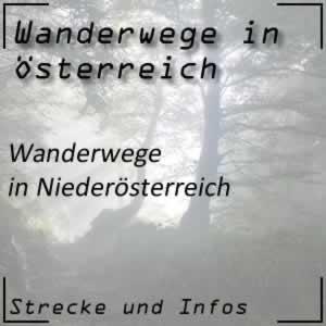 Wanderwege in Niederösterreich
