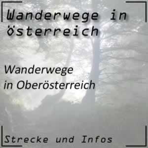Wanderwege in Oberösterreich