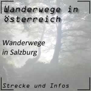 Wanderweg in Salzburg
