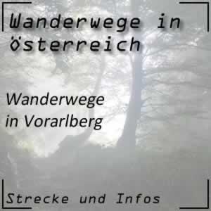 Wanderwege in Vorarlberg