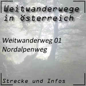 Weitwanderweg 01 Nordalpenweg