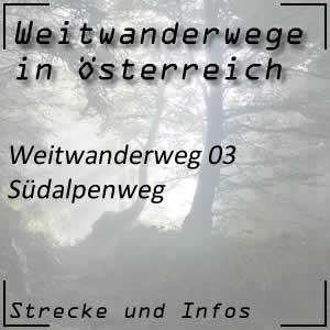 Weitwanderweg 03 Südalpenweg