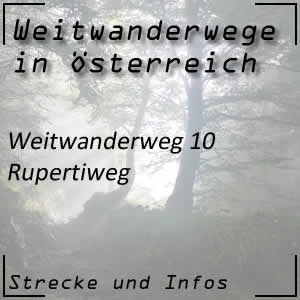 Weitwanderweg 10 Rupertiweg