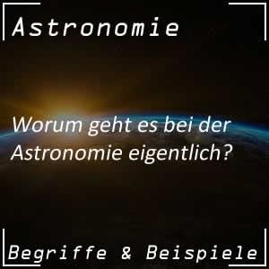 Aufgaben der Astronomie
