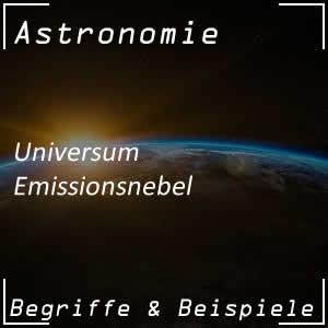 Emissionsnebel im Universum