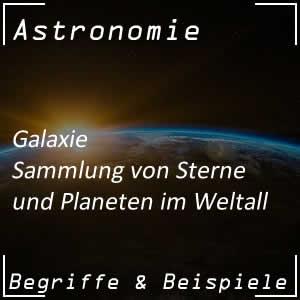 Galaxie im Universum
