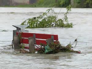 Hochwasser in Österreich 2018