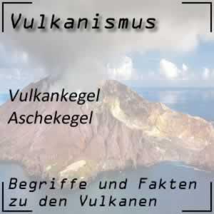 Aschekegel beim Vulkan