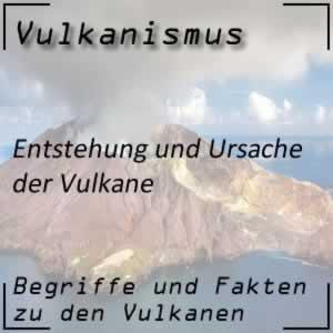Entstehung von Vulkanen