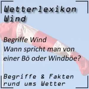 Wetter Bö