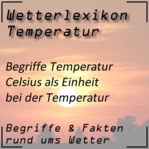 Wetterlexikon Celsius