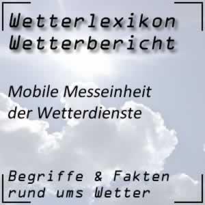 Mobile Messeinheit Wetterdienst