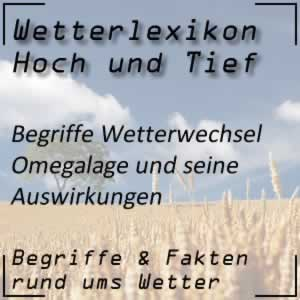 Wetterlexikon Omegalage