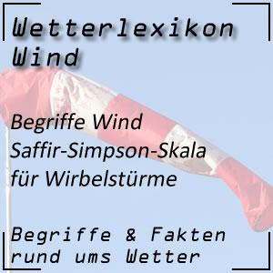 Saffir-Simpson-Skala für Wirbelstürme