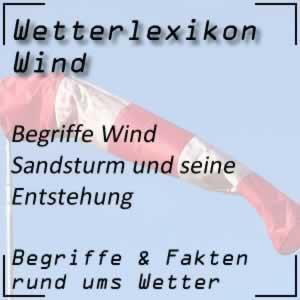 Wetter Sandsturm