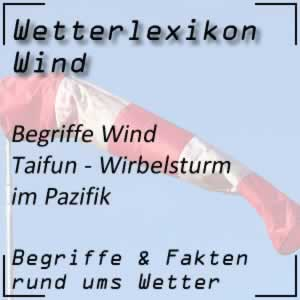 Wetterlexikon Taifun