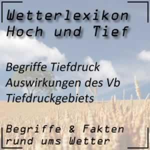 Wetterlexikon Vb-Tief