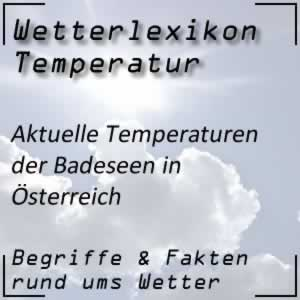 Badewetter im Wetterbericht