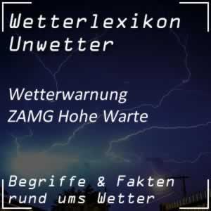 ZAMG-Wetterwarnung