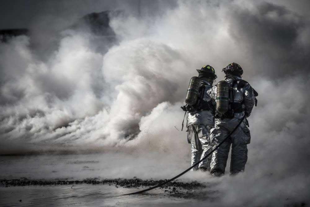 Arbeitskleidung Feuerwehr