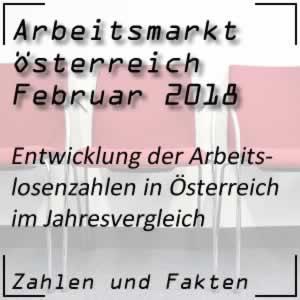 Arbeitslosenzahlen Österreich Februar 2018