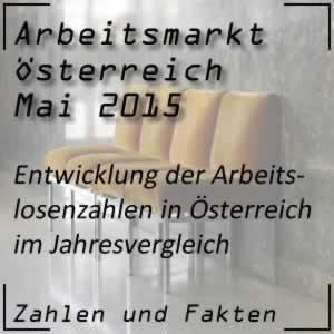 Arbeitslosigkeit Mai 2015